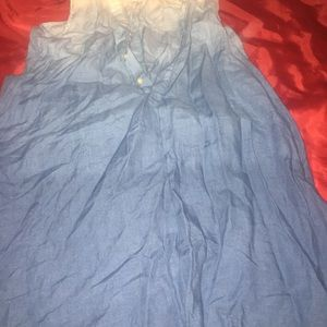Girls RL sleeveless dress in excellent condition